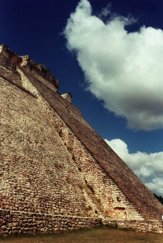 Adivino, or Pyramid of the Magician, Uxmal