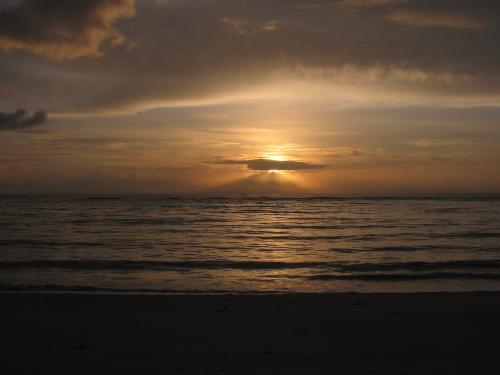 Pôr do Sol, Pôr do sol, amanhecer (verão)