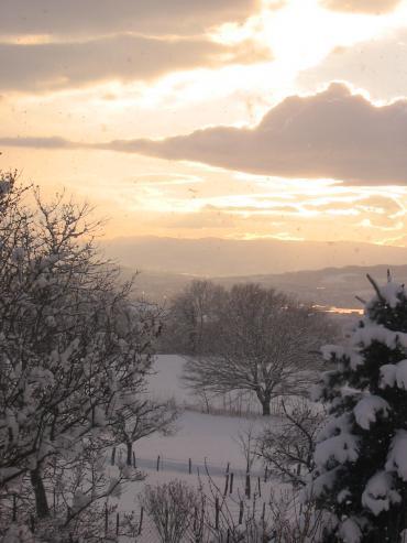 Tramonto, Tramonti (inverno)