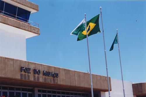 Aéroport d'Iguaçu, Chutes d'Iguaçu, vues du Brésil