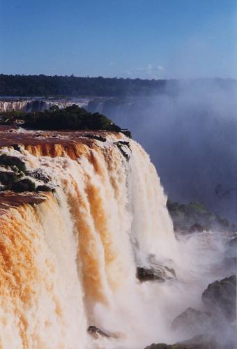 Cataratas do Iguaçu, vistas do Brasil