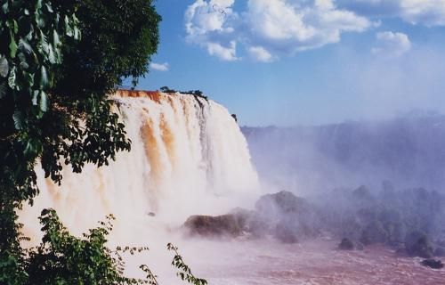 Cataratas do Iguaçu, vistas do Brasil