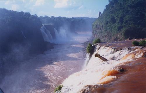 Chutes d'Iguaçu, vues du Brésil