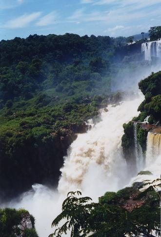 Iguazu Falls, seen from Argentina
