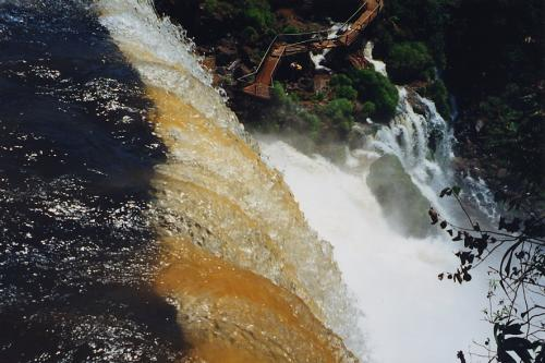 Chutes d'Iguaçu, vues d'Argentine