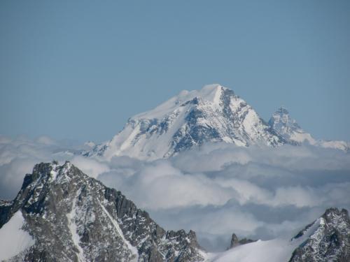 Grand Combin & Cervin, Mont Blanc