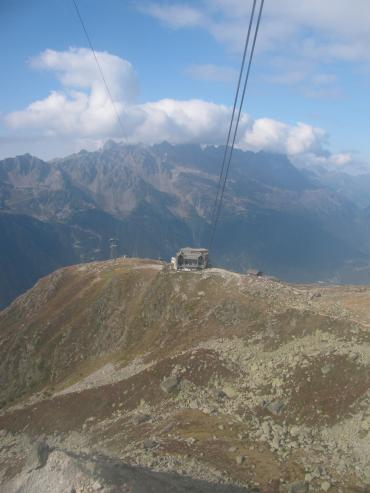 Téléphérique du Mt Blanc, Mont Blanc